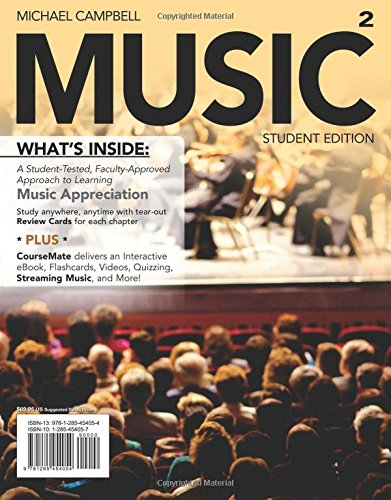 MUSIC (with CourseMate Printed Access Card) (New,: Campbell, Michael