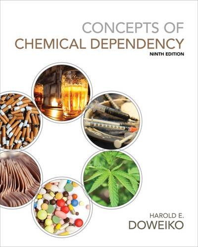 9781285457178: Concepts of Chemical Dependency (with CourseMate, 1 term (6 months) Printed Access Card)