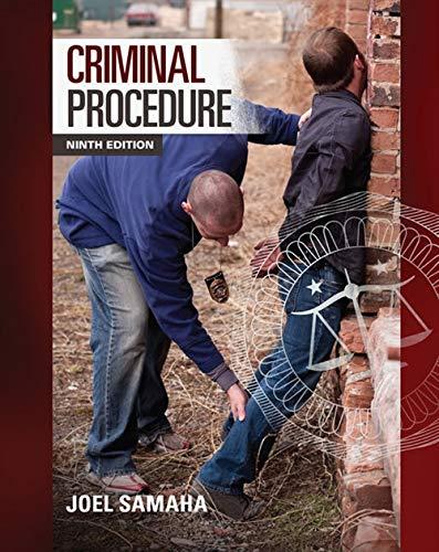9781285457871: Criminal Procedure
