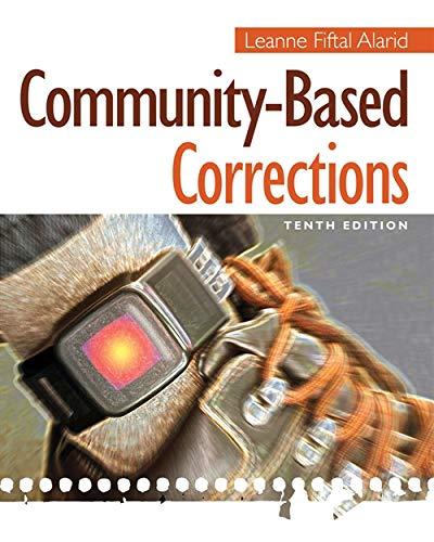 9781285458397: Community-Based Corrections