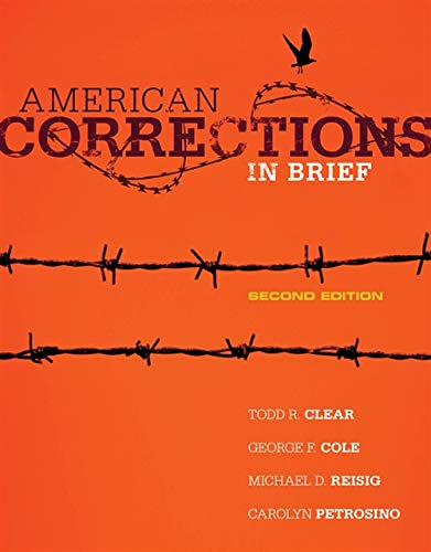 9781285458427: American Corrections in Brief