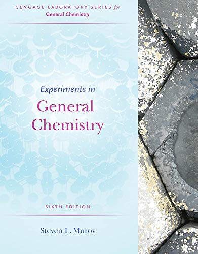 9781285458540: Experiments in General Chemistry (Cengage Laboratory Series for General Chemistry)