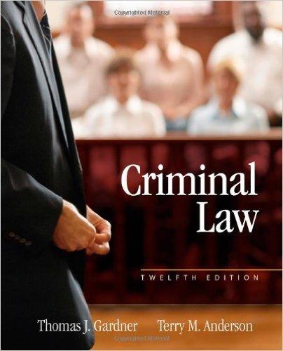 9781285458687: Criminal Law