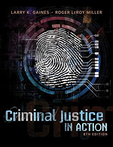 9781285458984: Criminal Justice in Action