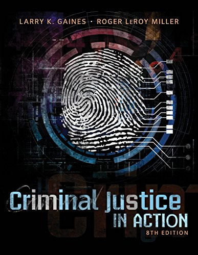 9781285459073: Criminal Justice in Action