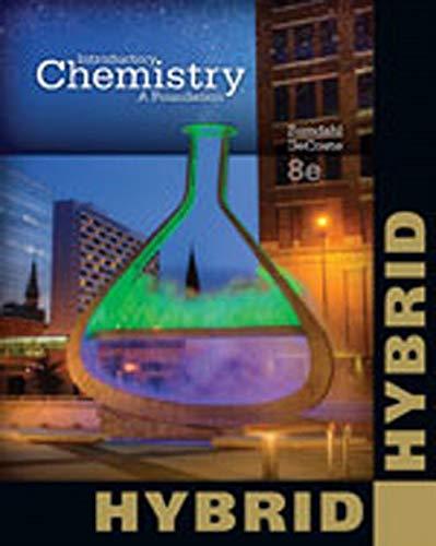 9781285459707: Introductory Chemistry: A Foundation, Hybrid Edition
