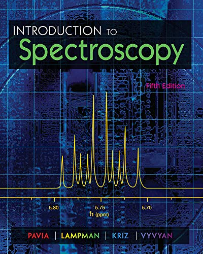 9781285460123: Introduction to Spectroscopy