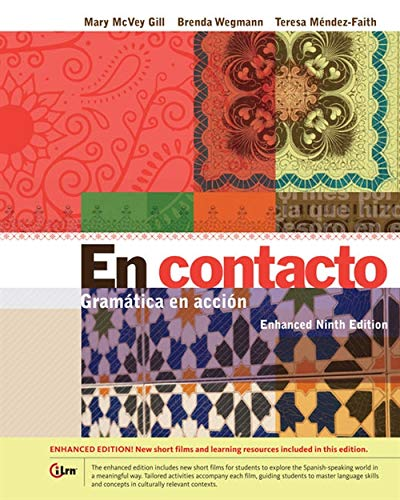 9781285461540: En contacto, Enhanced Student Text: Gramática en accion (World Languages)