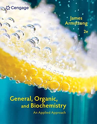9781285461779: Student Solutions Manual for Armstrong's General, Organic, and Biochemistry: An Applied Approach, 2nd