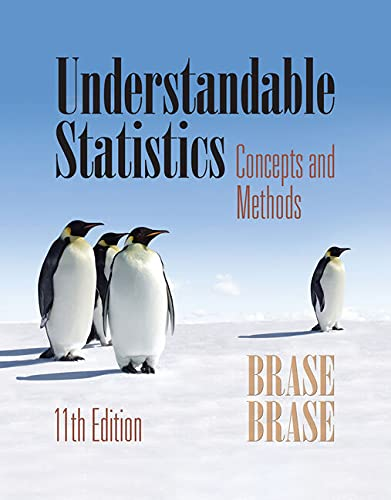 9781285462837: Student Solutions Manual for Brase/Brase's Understandable Statistics, 11th Edition