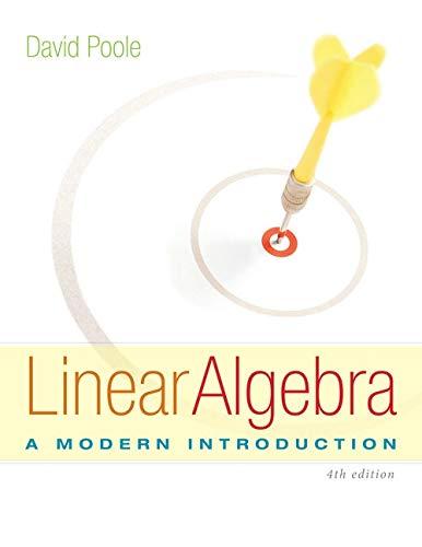 9781285463247: Linear Algebra: A Modern Introduction