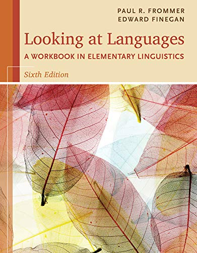 9781285463582: Looking at Languages: A Workbook in Elementary Linguistics