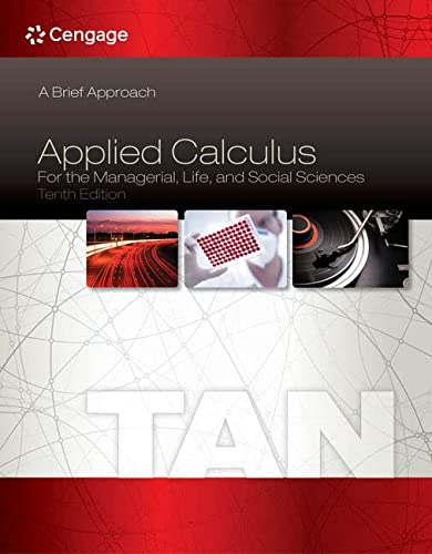 9781285464640: Applied Calculus for the Managerial, Life, and Social Sciences: A Brief Approach