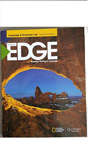 9781285465494: EDGE Level C - Language & Grammar Lab Teacher's Edition with Audio CD