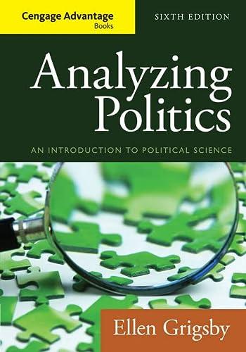 9781285465593: Cengage Advantage Books: Analyzing Politics