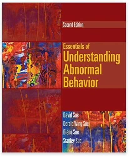 9781285471365: Bundle: Essentials of Understanding Abnormal Behavior, 2nd + CourseMate, 1 term (6 months) Access Code