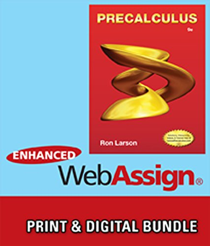 9781285473253: Bundle: Precalculus, 9th + Enhanced WebAssign Printed Access Card for Pre-Calculus & College Algebra, Single-Term Courses