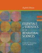 9781285481661: Bundle: Essentials of Statistics for the Behavioral Sciences, 8th + Aplia, 1 term Printed Access Card