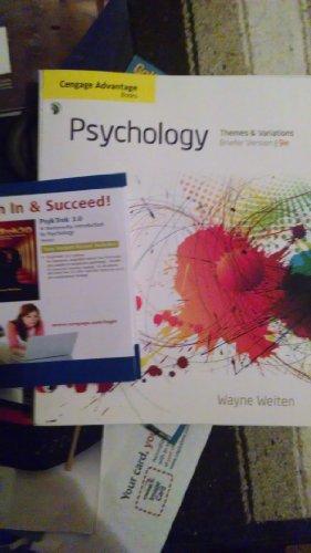 9781285482248: Psychology Themes & Variations Ninth Edition