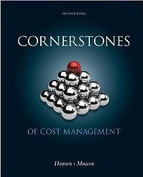 9781285486086: Bundle: Cornerstones of Cost Management, 2nd + CengageNOW Printed Access Card