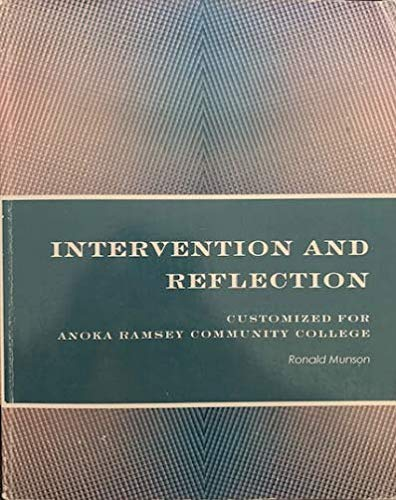 9781285548432: Intervention and Reflection (Customized for Anoka Ramsey College)