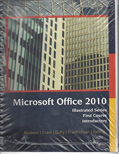 9781285551593: Mircosoft Office 2010 (Illustrated Series First Course Introductory)