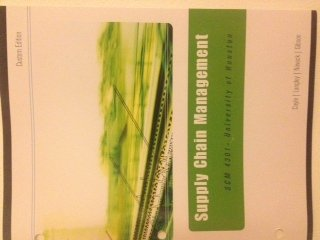 Supply Chain Management (Custom Edition): John J. Coyle,