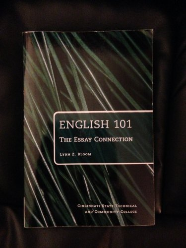 9781285554686: English 101 The Essay Connection