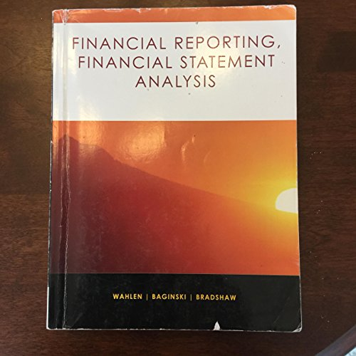 Financial Reporting, Financial Statement Analysis (from Financial: Mark Bradshaw, Stephen