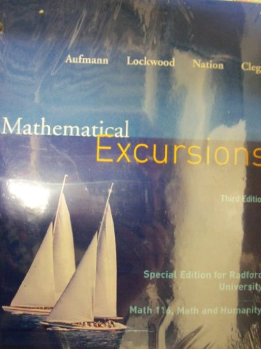 Mathematical Excursions: Aufmann, Lockwood, Nation,