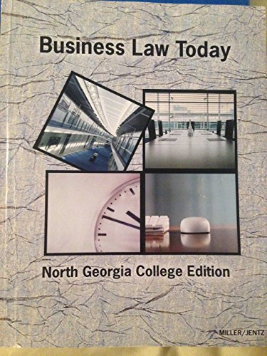 9781285560748: Business Law Today: North Georgia College Edition