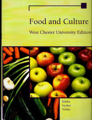 9781285561394: Food and Culture West Chester University Edition