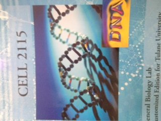 9781285562285: CELL 2115: General Biology Lab (Customized Edition for Tulane University)