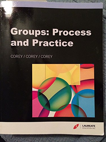 9781285562599: Groups: Process and Practice