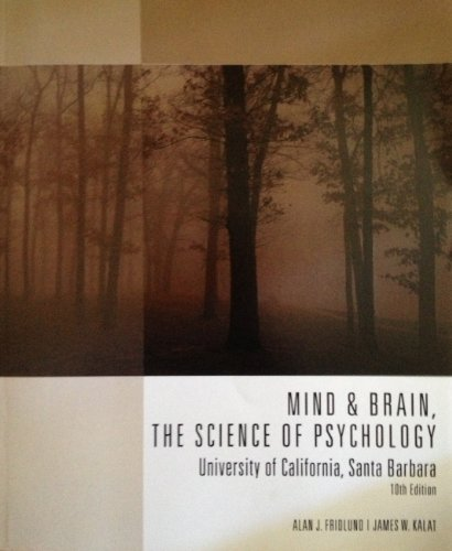 9781285563121: Mind & Brain, the Science of Psychology