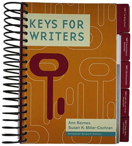 9781285563220: Keys for Writers