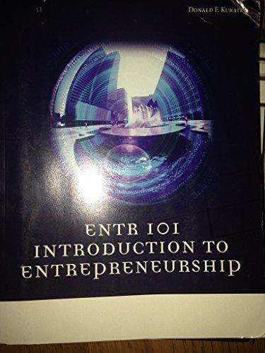 9781285565927: Introduction to Entrepreneurship