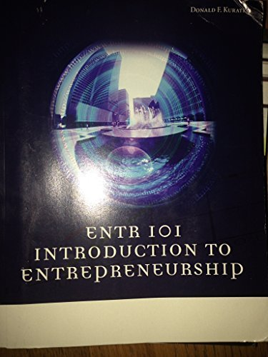9781285565927: Introduction to Entrepreneurship