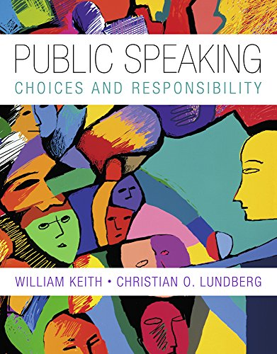 9781285575186: Bundle: Public Speaking: Choice and Responsibility + CourseMate with SpeechBuilder Express™ 3.0, InfoTrac, 1 term (6 months) Access Code