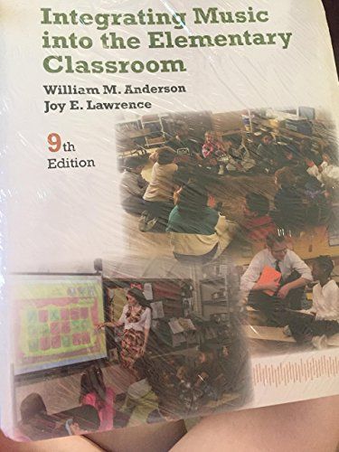 9781285578026: integrating music into the elemantary classroom