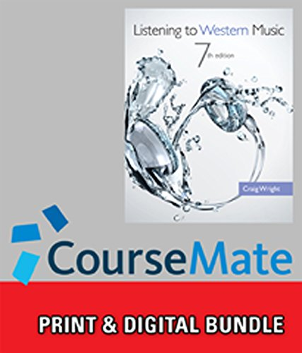 9781285582603: Bundle: Listening to Western Music (with Introduction to Listening CD), 7th + CourseMate, 1 term (6 months) Printed Access Card