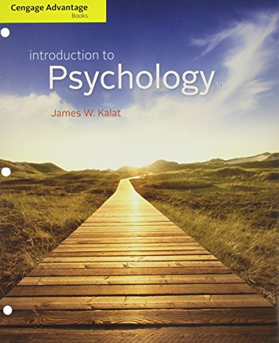 9781285584164: Bundle: Cengage Advantage Books: Introduction to Psychology, 10th + Aplia™, 1 term Printed Access Card