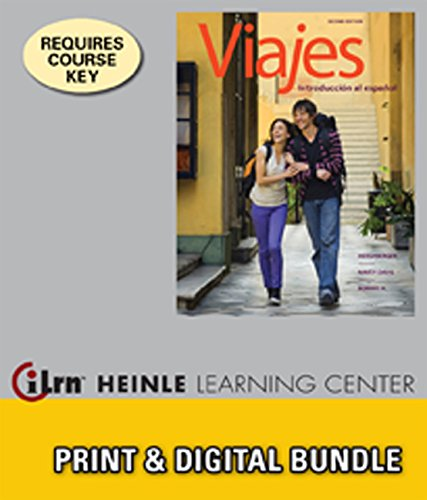 Bundle: Viajes: Introduccion al espanol, 2nd + iLrn Heinle