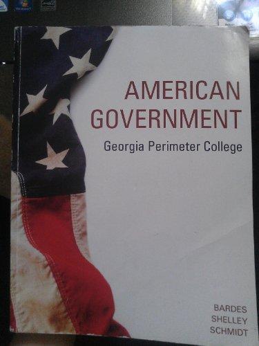 9781285622897: American Government Georgia Perimeter College