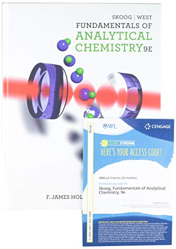 9781285716435: Bundle: Fundamentals of Analytical Chemistry, 9th + OWLv2 24-Months Printed Access Card