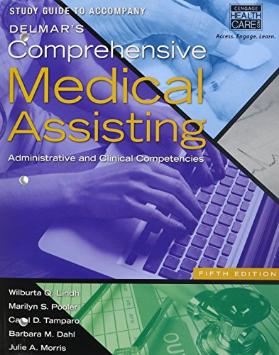9781285717524: Delmar's Comprehensive Medical Assisting: Administrative and Clinical Competencies [With Study Guide]