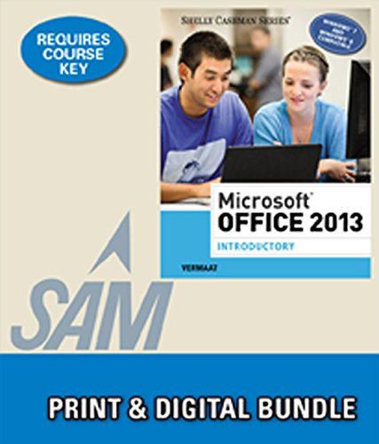 9781285719481: Bundle: Microsoft Office 2013: Introductory + SAM 2013 Assessment, Training, and Projects v1.0 Printed Access Card