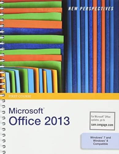 9781285725918: Bundle: New Perspectives on Microsoft Office 2013, First Course + SAM 2013 Assessment, Training, and Projects with MindTap Reader Printed Access Card