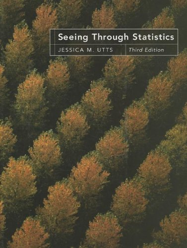 9781285733135: Seeing Through Statistics (Book Only)