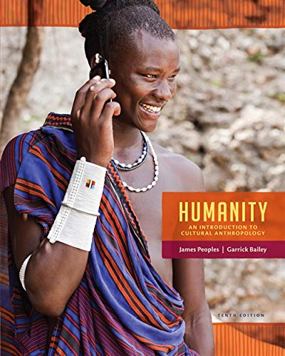 9781285733371: Humanity: An Introduction to Cultural Anthropology